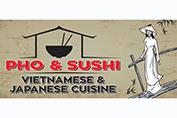 Pho & Sushi logo