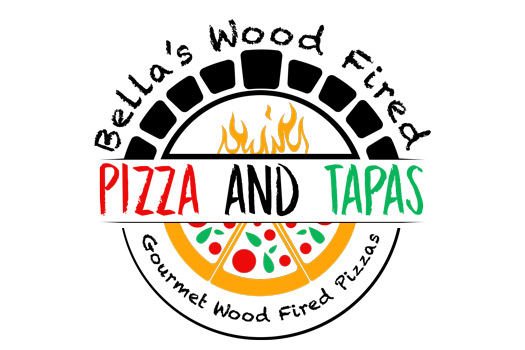 Bella's Wood Fired Pizza & Tapas logo