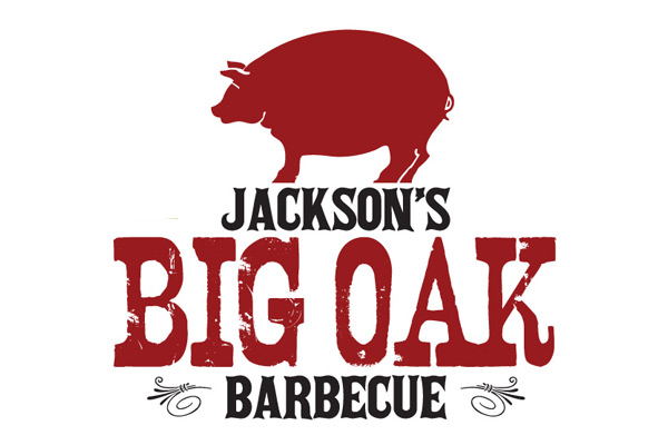 Jackson's Big Oak Barbecue logo