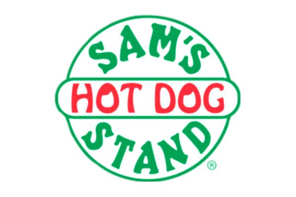 Sam's Hot Dog Stand logo