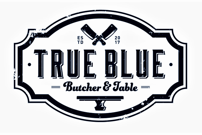 True Blue Butcher & Table   | Lunch logo