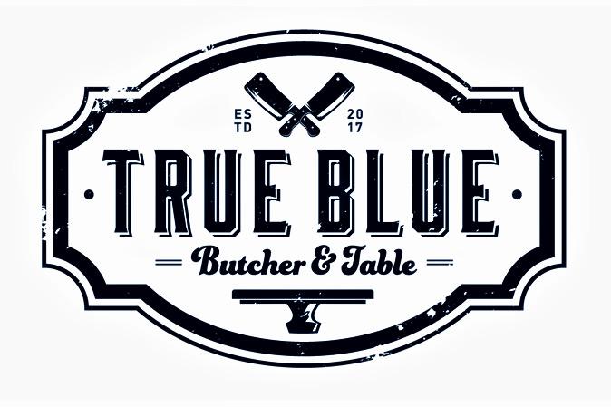 True Blue Butcher & Table | Brunch logo