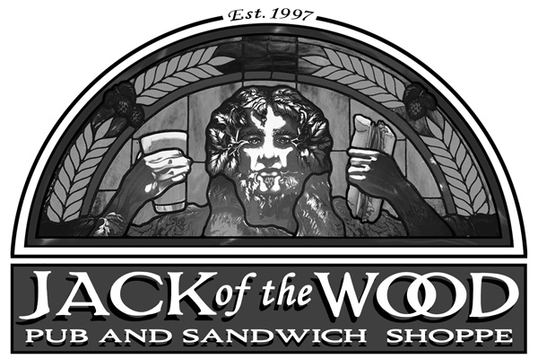 Jack of the Wood Pub & Sandwich Shoppe logo