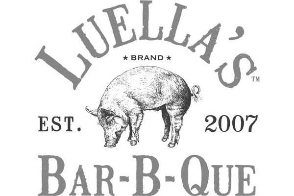 Luella's Bar-B-Que | North AVL logo