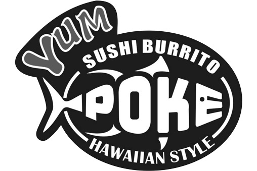 Yum Poke | Downtown logo
