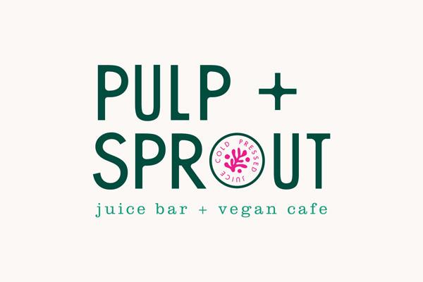 Pulp + Sprout Juice Bar + Vegan Cafe logo